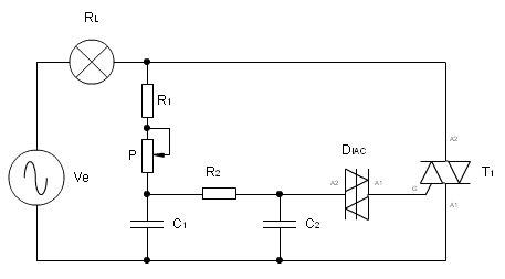 Electr nica anal gica - Regulador de intensidad ...